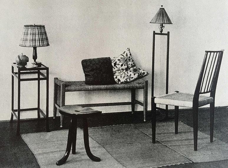 Möbelgrupp, Haus & Garten, 1920-tal / Group of furniture, Haus & Garten, 1920s