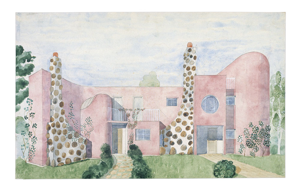 D-House 4, 1950-tal / D-House 4, 1950s