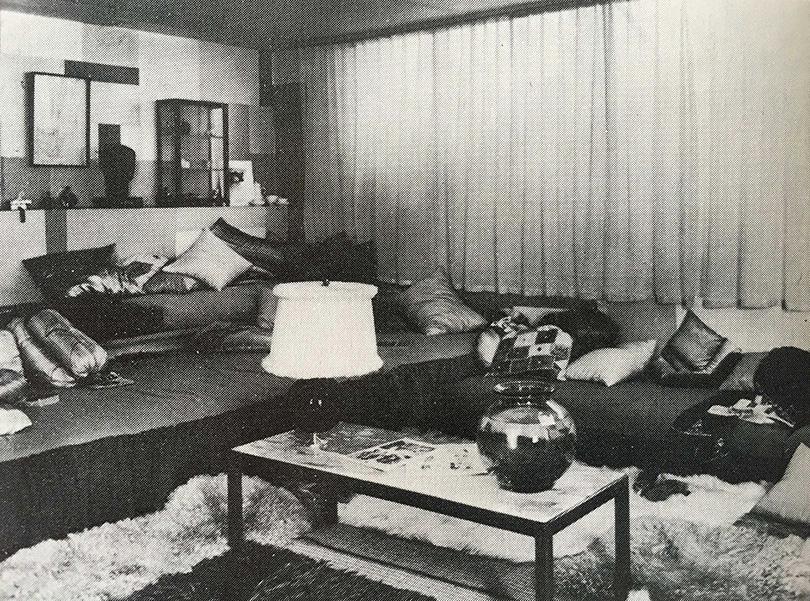 Boudoir [damrum], utställning, 1926 / Boudoir, exhibition setup, 1926
